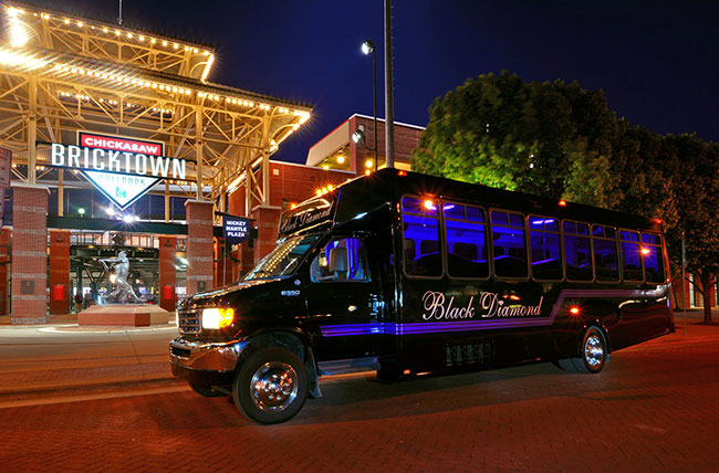 Imperial Party Bus in Bricktown, Oklahoma City