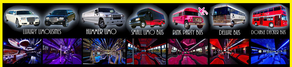 OKC Party Bus and Limo Service Rental Company Oklahoma City