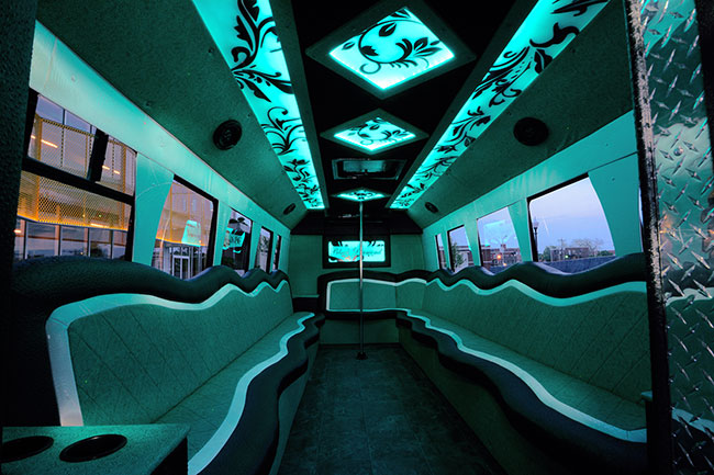 OKC party bus rental company Pearl